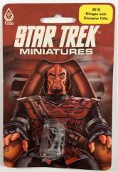 Klingon w/Disruptor Rifle