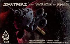 Wrath of Khan - Collector Series #3 - Space Laboratory Regula One and Crew