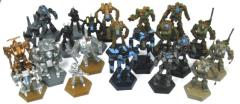 Battletech Plastic Miniatures Collection #6 - 19 Figures