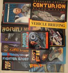 Renegade Legion Scenario, Sourcebook & Novels Collection - 11 Books!