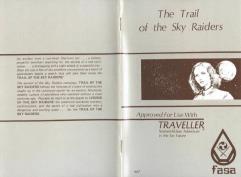 Sky Raiders #2 - Trail of the Sky Raiders, The