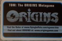 TOM - The Origins Metagame Booster Pack