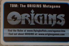 TOM - The Origins Metagame Complete Set