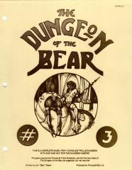 Dungeon of the Bear #3