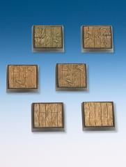 25x25mm Wooden Planks Base Set