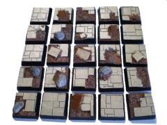 20mm Square Bases - Random