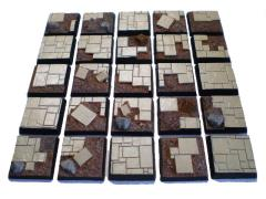 25mm Square Bases - Complete Set