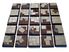25mm Square Bases - Complete Set