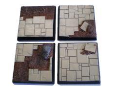40mm Square Bases - Complete Set