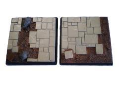 50mm Square Bases - Complete Set