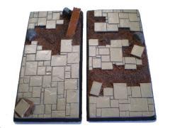 50x100mm Square Base - Random