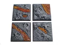 40mm Square Bases - Complete Set