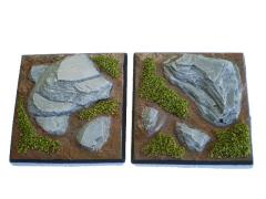 50mm Square Base - Random