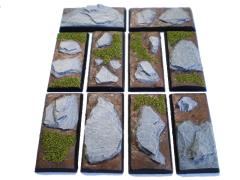 25x50mm Square Bases - Complete Set