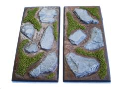 50x100mm Square Bases - Complete Set