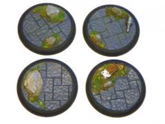 50mm Rolled Lip Round Bases - Complete Set