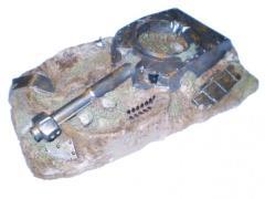 "3""x5"" Difficult Terrain Marker - Turret"