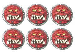 Orc/Troll Shields - Crimson Talon