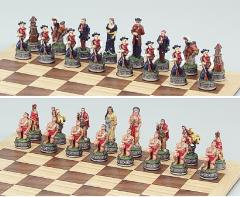 Cowboy & Indian Chess Set