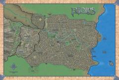 "Ptolus Vinyl Map - 32"" x 48"""