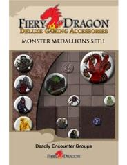 Monster Medallions Set #1 - Deadly Encounter Groups