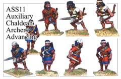 Assyrian Auxillary Archers Attacking