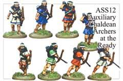 Assyrian Auxillary Archers Advancing