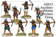 Assyrian Archers Firing Line One