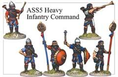 Assyrian Heavy Infantry Command One