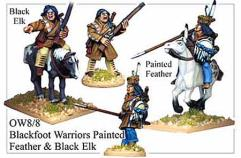Blackfoot Warriors - Painted Feather & Black Elk
