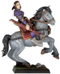 Mounted Female Dark Elf