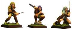 Sylvan Female Warriors