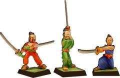 Samurais in Kimono