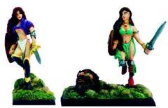 Giant Slayer Elves Girls