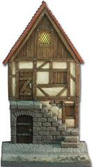 2 Floored Medieval House - Front Side w/Stairs