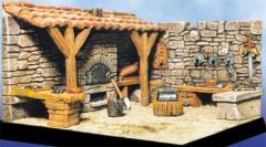 Medieval Blacksmith w/o Accessories