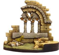 Roman Church Ruins