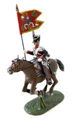 23rd Light Dragoons - Standard Bearer w/Standard #1
