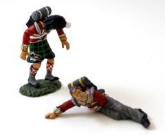 1st Battalion - 42nd Royal Highlands 1 Dead 1 Dying #1