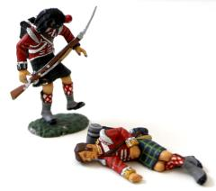 2nd Battalion - 92nd Highlanders 1 Dead 1 Dying #1