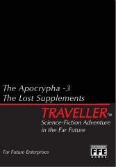 Apocrypha #3, The - The Lost Supplements