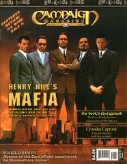 "Campaign Magazine #7 ""Henry Hill's Mafia, Shadowforce Archer Supplement"""