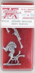 Kryomek Warriors Heavy Weapons
