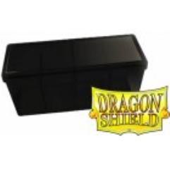 Four Compartment Box - Black