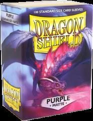 Standard Sleeves - Matte Purple (100)
