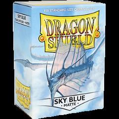 Standard Sleeves - Matte Sky Blue (100)