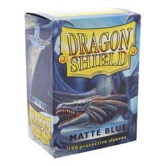 Standard Sleeves - Matte Blue (100)