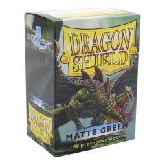 Standard Sleeves - Matte Green (100)