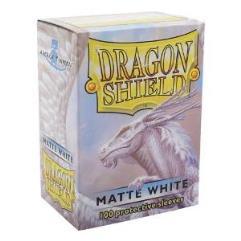 Standard Sleeves - Matte White (100)
