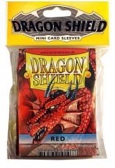 Mini Sleeves - Red (10 Packs of 50)